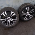 ALU 15´´ et 15,  4x108 + pneu
