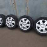 ALU RENAULT SCENIC 6,5J 16, 4x100, ET 50,+ Pneu Michelin Pilot 205 55 16 (4-5mm) (2)