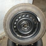 Pneu  195 60 15 DUNLOP nové 2ks. + disk Opel 4x100 ET 49